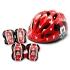 [삼천리자전거] 미키마우스 헬멧보호대 세트 어린이 자전거 킥보드