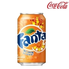 [싸고빠르다] 환타 오렌지 355ml 1캔 최신제조 뚱캔 음료수 음료 캔음료