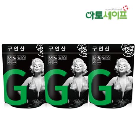 [아토세이프]아토세이프 발포타입 구연산 (10입 3팩)