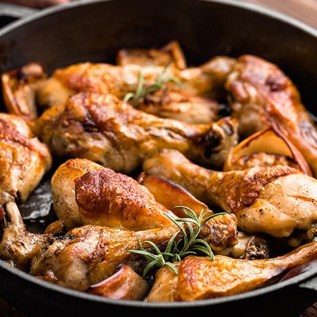[떴닭] 에어프라이어 치킨 떴닭 로스트  1kg+1kg / 100%국내산 / 누적판매 50만개 돌파