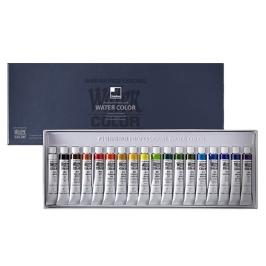 신한 수채화물감세트 전문가용 7.5ml 18색 수채물감
