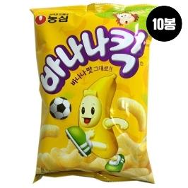 [원더배송] 농심 바나나킥 75g 10봉