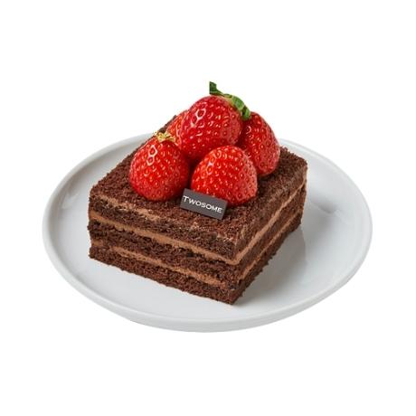 [선물하기] 투썸플레이스 떠먹는 스트로베리 초콜릿 생크림