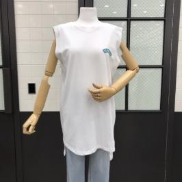 [모다아울렛](반에이크) 프린트 민소매 티셔츠  VA98TOQ313Z