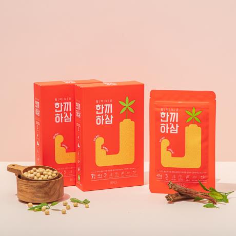 [비세스] 6년근홍삼을 품은 식사대용 단백질 쉐이크 한끼하삼 2주(14입)
