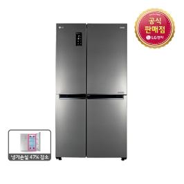 [엘지전자] ◎ [쿠폰가:1,242,700원] ◎ LG판매점 양문형 냉장고 S631S32 636L