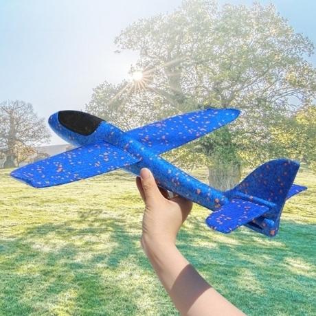EPP 폼 비행기 에어플레인 폼비행기 4개/색상 골고루