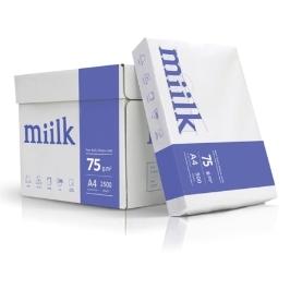 [한국제지] 밀크 복사지 A4 75g 1BOX2500매