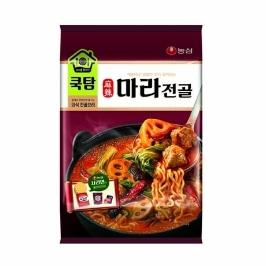 [원더배송] 농심 쿡탐 마라전골 457g 3봉