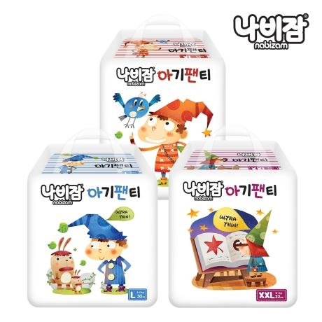 나비잠 울트라씬(팬티)6팩