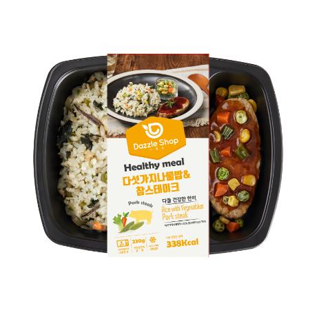 [다즐샵] 11_다섯가지나물밥+참스테이크