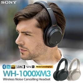 [소니] 소니 WH-1000XM3 노이즈캔슬링 블루투스 무선 헤드폰