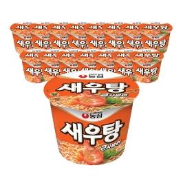 [원더배송] 농심 새우탕 큰사발 115g 16컵