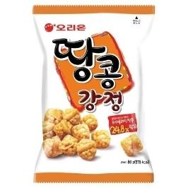 [원더배송] 땅콩강정 80g x 10봉