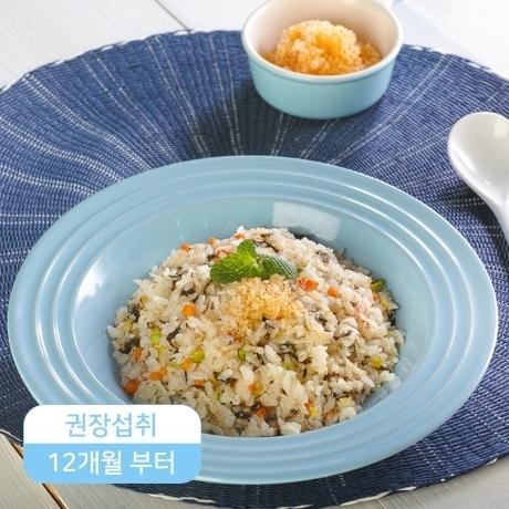 [유아밥]날치알게살볶음밥