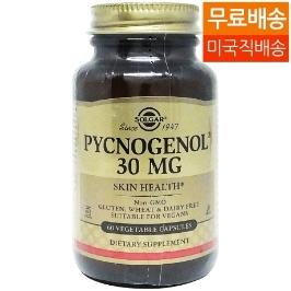[지앤씨] [해외배송] 솔가 피크노제놀 30mg 60베지캡