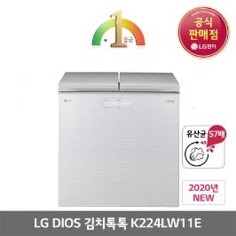 [디오스] LG 김치냉장고 K224LW11E 신제품 전국무료배송설치☆