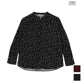 [투미] 2ME 프린트 코튼 기모 셔츠