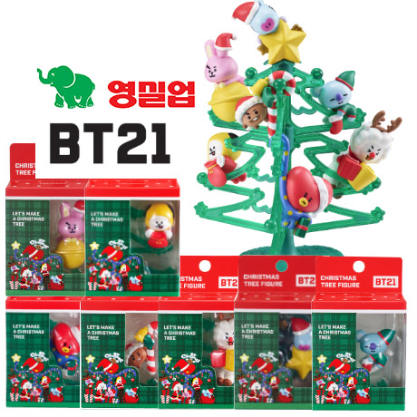 [영실업]BT21 크리스마스 트리 (7종세트)
