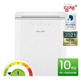 [딤채] 공식인증 20년형 딤채 김치냉장고 뚜껑형 120리터 1등급 EDL12CFTYW 무료설치